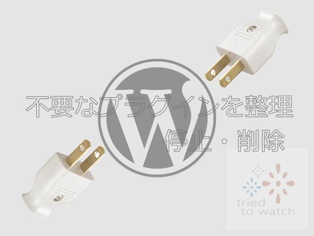 サブで使用したWordPress Flash Uploaderを削除
