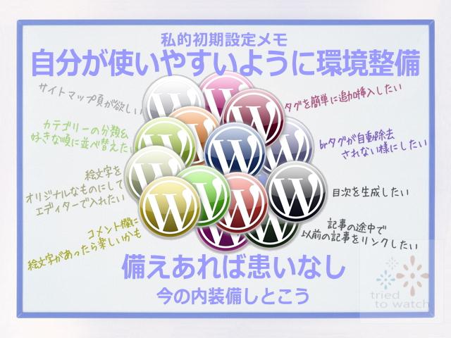 WordPress–記事を投稿する前に変更したい事&追加プラグイン①