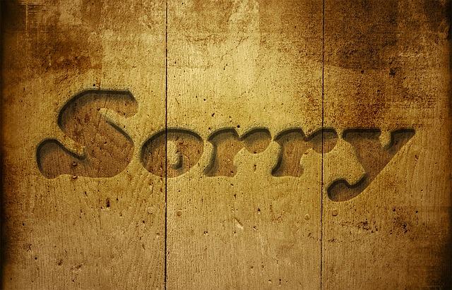 ご案内とお詫び。