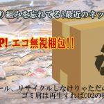 環境への取り組みを忘れてる?最近のネットショップ―エコ無視梱包をちょっと考える